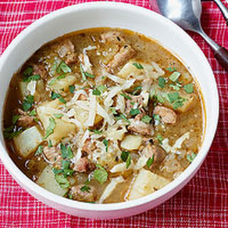 Pork & Potato Green Chile