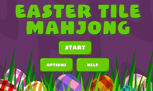 Easter Mahjong Tiles