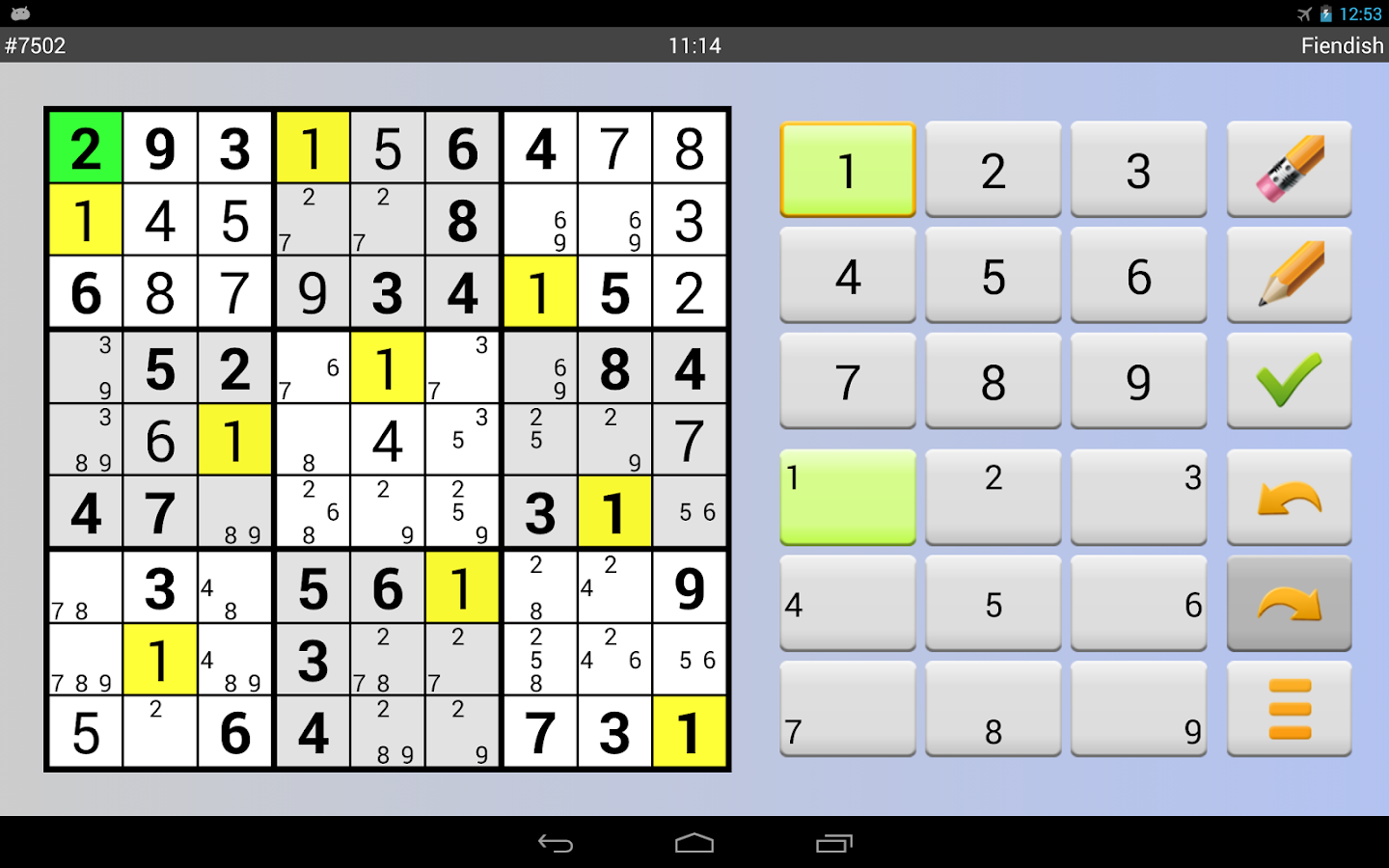 Sudoku Grab'n'Play Plus Screenshot 8