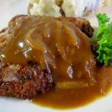 Chicken Fried Steaks with Onion Gravy