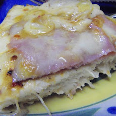 Quick Chicken Escalope With Ham and Gruyere