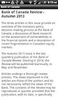 Screenshot of Central Bank