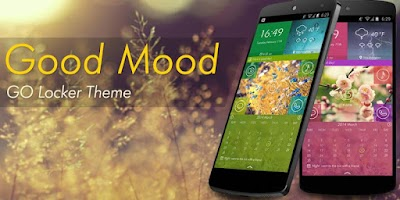 Screenshot of Good Mood GO Locker Theme
