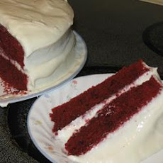 Reduced Fat and Cholesterol Red Velvet Cake