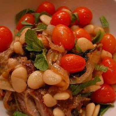 Lamb, Mint and Butterbean Stew