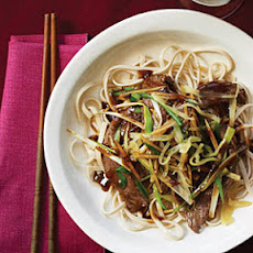 Beef Stir-Fry with Fresh and Pickled Ginger