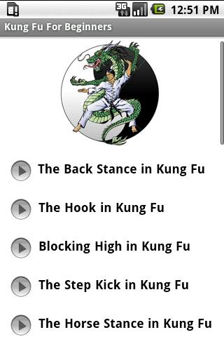 Kung Fu For Beginners