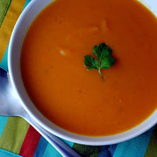 Sweet Potato Soup with Attitude