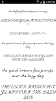 Screenshot of Fonts for FlipFont Love Fonts
