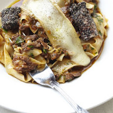Pappardelle With Oxtail Ragù & Taleggio