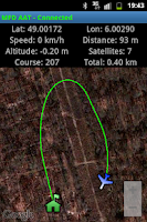 Screenshot of MyFlyDream AutoAntennaTracker