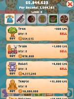 Screenshot of Cookie Clicker Collector