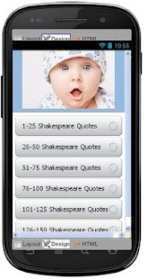 Best Shakespeare Quotes - screenshot