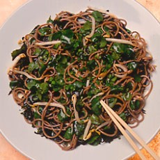 Soba Noodle Salad with Soy and Citrus Dressing