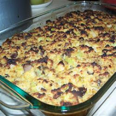Oyster and Cornbread Dressing