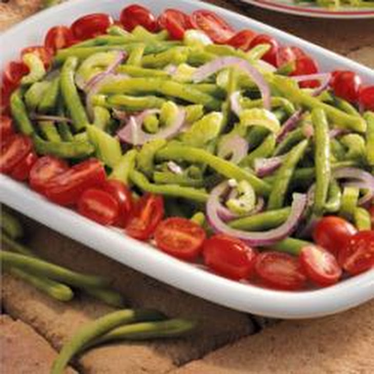 Green Bean and Tomato Salad Recipe | Yummly