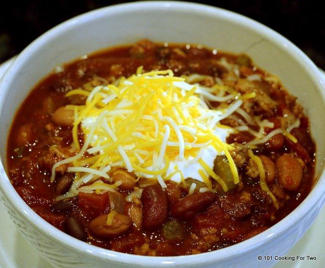 Crock Pot Three Bean Turkey Chili Recipe | Yummly