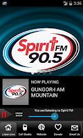 Screenshot of Spirit FM 90.5 Tampa