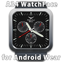 Screenshot of A34 WatchFace for Android Wear