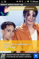 Screenshot of Michael Jackson Social Tags