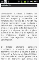 Screenshot of Constitucion de Bolsillo