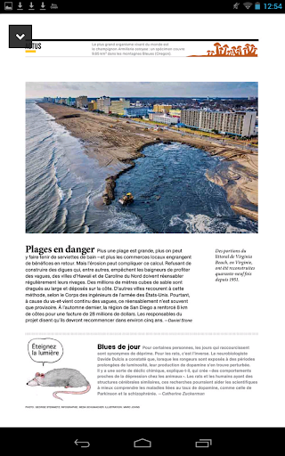 National Geographic France - screenshot