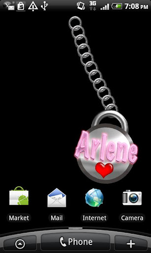 Arlene Name Tag
