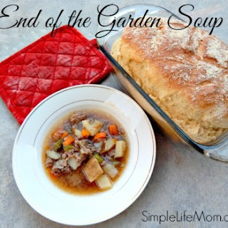 End of the Garden Soup