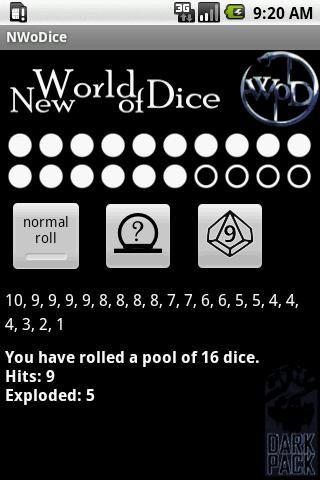 New World of Dice