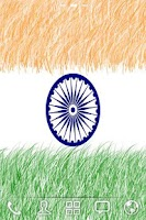 Screenshot of INDIAN FLAG LIVE WALLPAPER