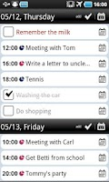 Screenshot of Total Agenda