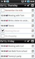 Screenshot of Total Agenda