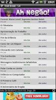 Screenshot of Leitor de charges e tirinhas