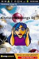 Screenshot of Christmas Songs DJ