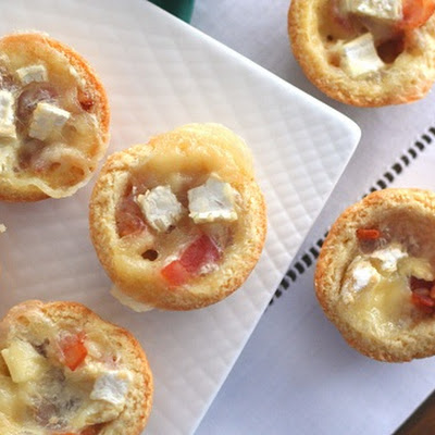 Mini Brie and Bacon Tartlets – Low Carb and Gluten-Free