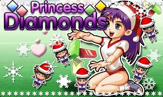 Screenshot of Christmas Princess Diamonds