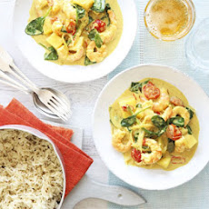 Goan Prawn & Coconut Curry With Cumin Rice