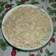 Sweet N Sour Macaroni Salad