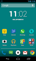 Screenshot of Blitz FREE - Icon Pack