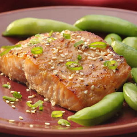 Broiled Salmon with Miso Glaze Recept | Yummly