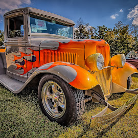 John Brown's 33 Ford by Ron Meyers - Transportation Automobiles