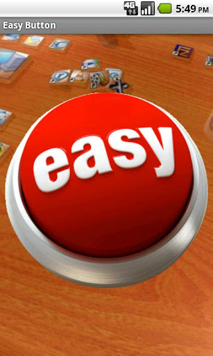 Easy Button That was easy