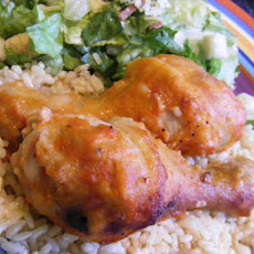 Piernas De Pollo - Spanish-Style Chicken Legs.