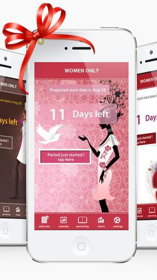Календарь женский iphone