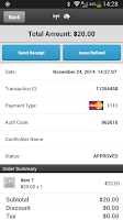 Screenshot of ROAMpay™ X4
