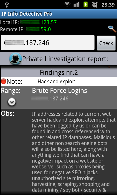 IP info Detective Pro Screenshot 1
