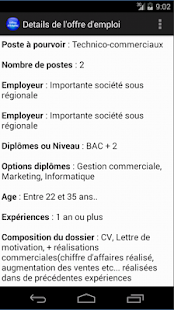 Job au Faso - screenshot