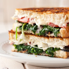 Mediterranean Grilled Cheese Sandwich