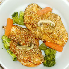 Baked Sesame Chicken