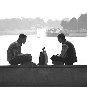 morning meeting by Vraj Mistry - People Street & Candids (  )